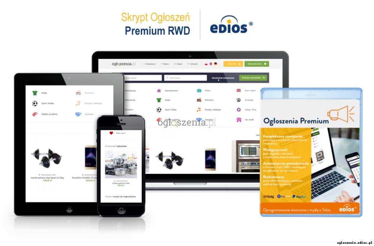 Skrypt Ogłoszeń Premium RWD
